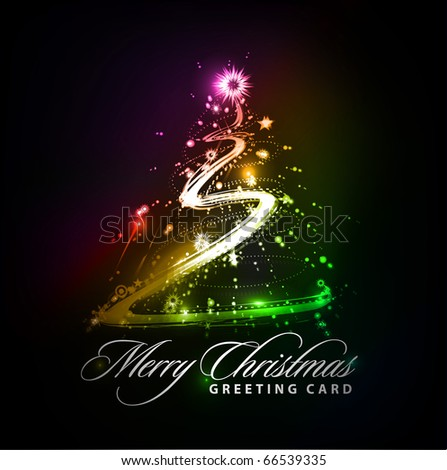 colorful background for new year and Christmas, vector illustration