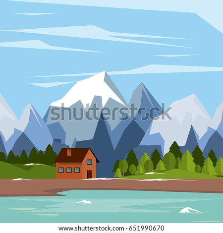 colorful background of natural