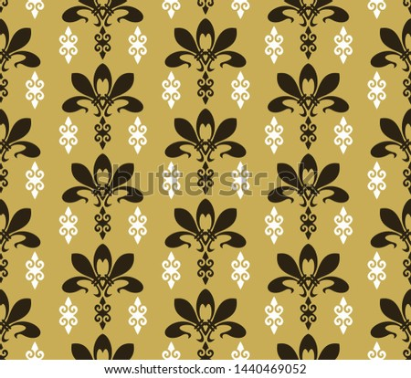 Colorful background pattern. Retro pattern in modern style. Illustration ornament wallpaper background. Abstract seamless texture. Template for fabric design. Vector illustration