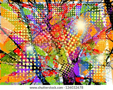 colorful background. vector