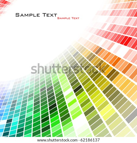 Colorful background. Vector.