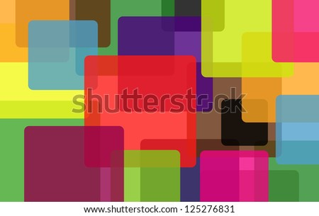 colorful background with abstract shapes.