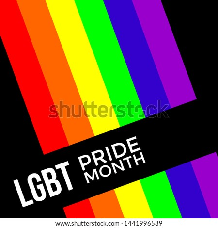 colorful backgrounds on gender equality, for the LGBT community, for the rights of sexual minorities, lgbt logos for parades, original elements of the lgbt community and minorities, a symbol of gay