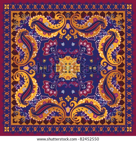 Colorful Bandana Design