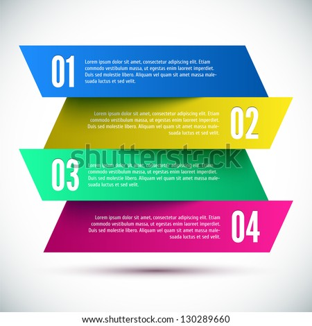 Colorful Banner Design template