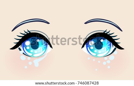 colorful beautiful eyes in