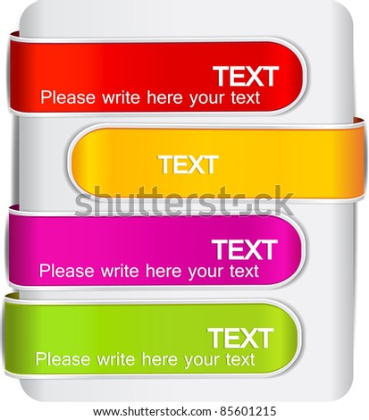 Colorful bookmarks for speech