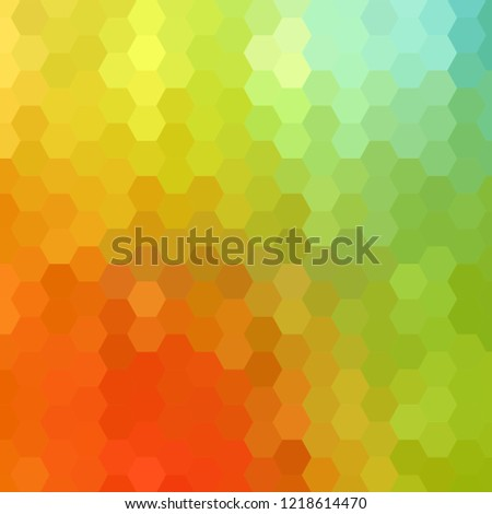 Colorful bright colorful background. triangular pattern