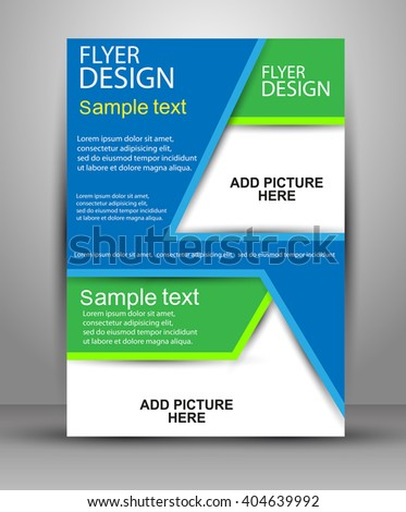 Real Estate Agent Flyer & Poster… Stock Photo 279090419
