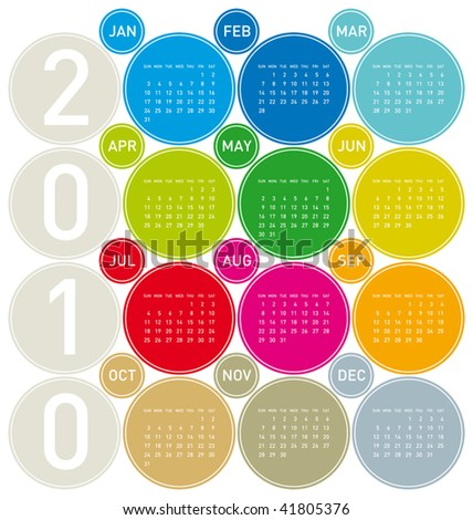 Royalty-free Colorful Calendar for year 2017 in a\u2026 #513629866 Stock
