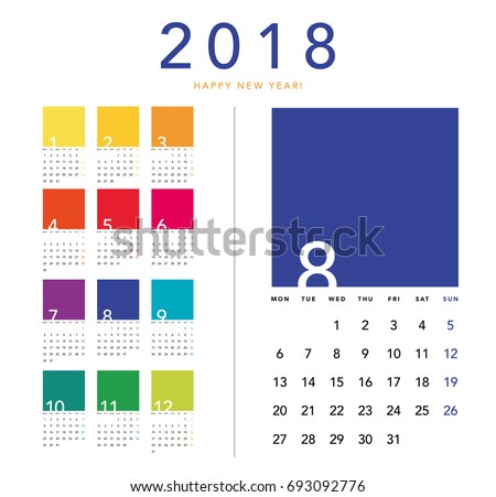 stock-vector-colorful-calendar-layout-for-years-week-starts-from-monday