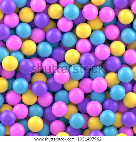colorful candy sweet gumballs