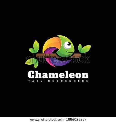 colorful chameleon logo
