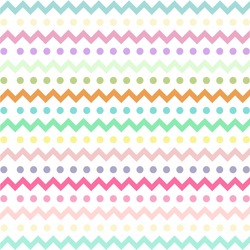 Colorful Chevron pattern for eggs easter day vector design
