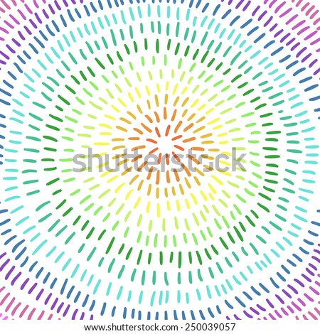 Colorful circle. Art. Abstract Background, rainbow colors.Vector illustration