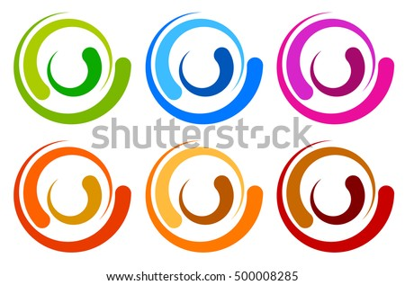 spiral icons download free vector art stock graphics images
