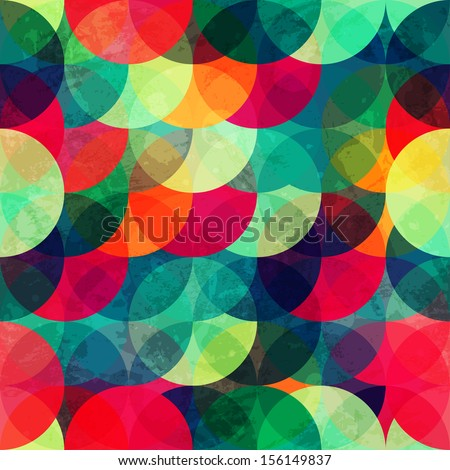 colorful circle seamless