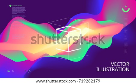 colorful color gradients
