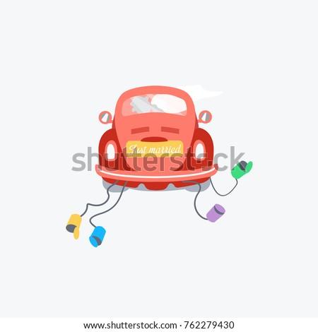 colorful cool classic car