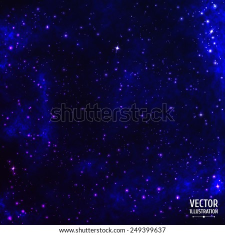 colorful cosmic space galaxy