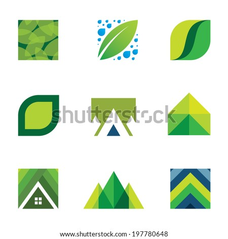 Colorful creativity inspiration design for professional company vector logo icons
