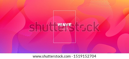 Colorful 3d Fluid Banner. Geometric Background. Minimal Pattern. Vivid Wave Brochure. 3d Fluid Shapes. Rainbow Futuristic Gradient. Bright Minimal Design. Light Dynamic Waves. Abstract Poster.