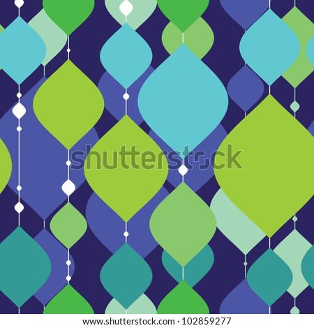 Colorful decorative elements - seamless pattern
