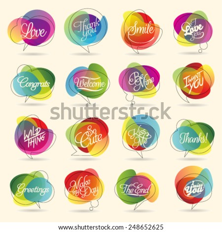 Stock Photo Colorful Design Element and Abstract Web Icon and logo Vector Symbol. Unusual icon and sticker set. Graphic design easy editable for Your design.