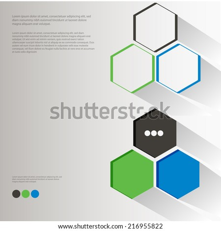 colorful design template