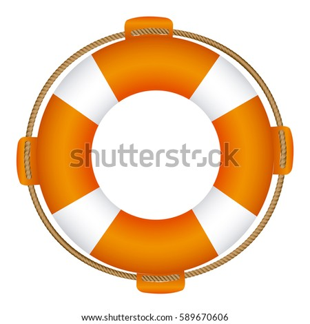 colorful flotation hoop with