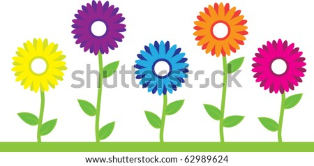 stock-vector-colorful-flowers