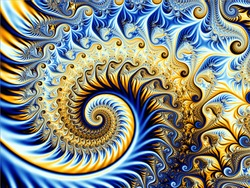Colorful fractal background. Computer generated fractal. Vector stock. Eps 10.