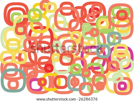 Colorful Frame Pattern