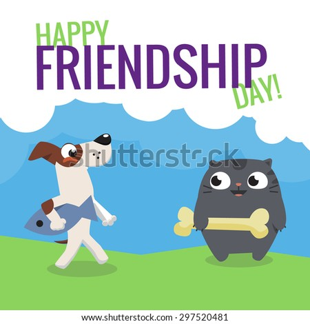 colorful friendship day