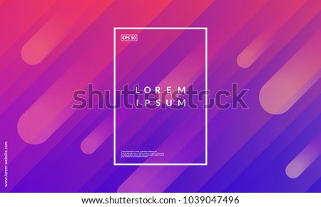 Colorful geometric background. Dynamic shapes composition. Eps10 vector.