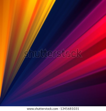 Colorful geometric background with rays. Abstraction vector background