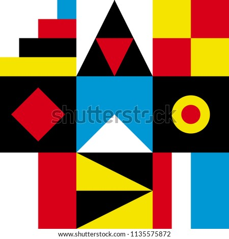 Colorful geometric border pattern. Ethnic vector texture.Traditional ornament.