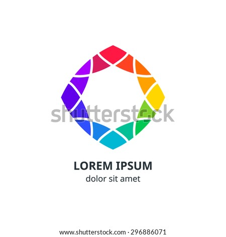 colorful geometric corporate