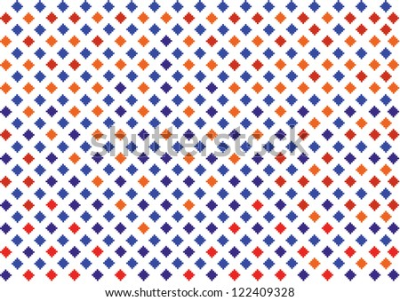 colorful geometric pattern - stock vector