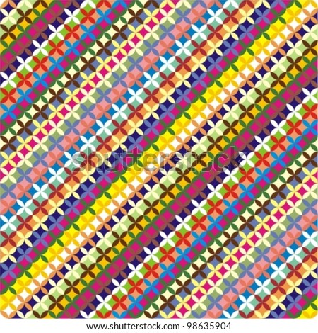 Colorful geometric pattern. Summer background