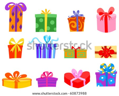 Colorful gift set