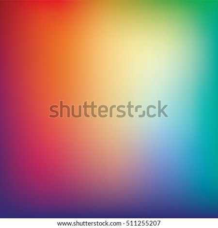 colorful gradient mesh