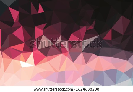 Colorful gradient mosaic background. Geometric triangle, mosaic, abstract background. Mosaic, color background. Mosaic texture