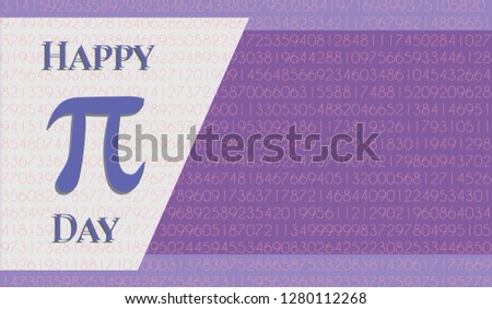colorful horizontal banners for Pi Day. Pi number, Pi sign, mathematical constant, irrational number, greek letter. Abstract digital vector illustration. Pi sign