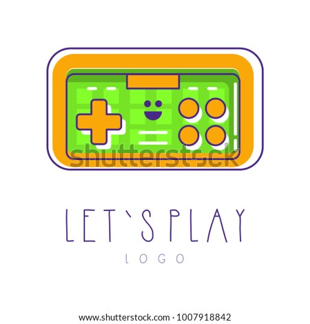 colorful icon of joysticks for