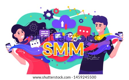 colorful illustration depicting