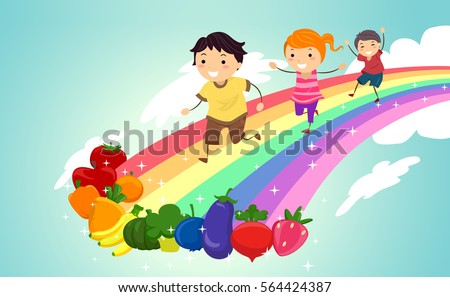 colorful illustration featuring