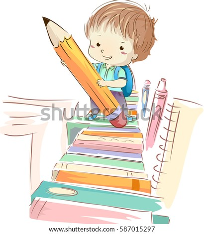 colorful illustration of a cute