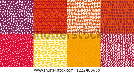 colorful kiddy background set