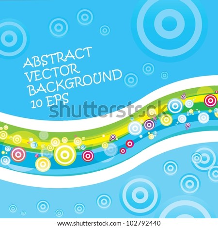 Colorful kids background. Vector illustration.
